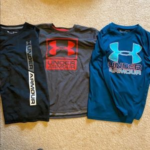 3 Under Armour T-shirt's